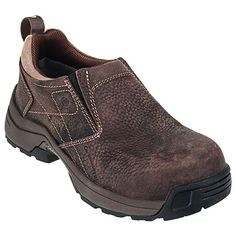 Carolina Shoes: Women's Brown LT251 Composite Toe ESD Shoes