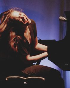 """Fiona Apple (born Fiona Apple McAfee Maggart; Solo piano rock & baroque pop vocalist & pianist. Winner of a Billboard Music Award, a Grammy, 2 MTV Music Video Awards, & her album """"Tidal"""" was listed as the 20th best album of the past 25 years.)"""