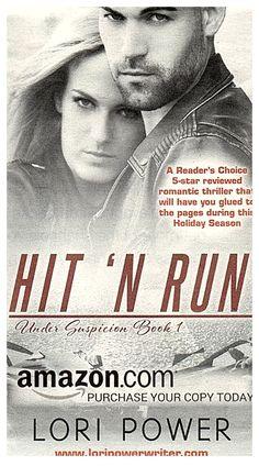 Hit 'N Run (Under Suspicion) (Volume November 2015, Thriller, Free, Romantic, Running, Sayings, Amazon, News, Racing