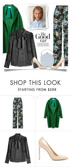 """""""Smell the Roses: Vintage Florals"""" by fashionmonkey1 ❤ liked on Polyvore featuring Diane Von Furstenberg, Raey, Tara Jarmon, Francesco Russo, Handle, vintage and vintageflorals"""