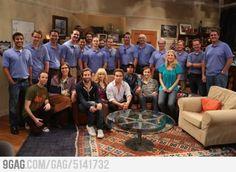 Mars Curiosity team meets the crew of TBBT :)