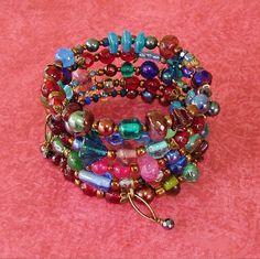 Boho Bracelet Beaded Bracelet Bohemian Jewelry Boho by BohoStyleMe