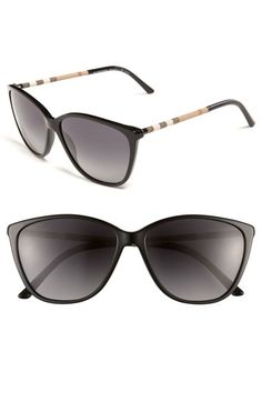 cd511f7195762 Burberry Retro 58mm Polarized Sunglasses available at  Nordstrom Ray Ban  Sunglasses Outlet