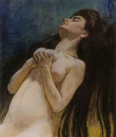"František Kupka - Study to ""Extasy"" (art of Czechia)"