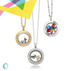 Mini lockets with style