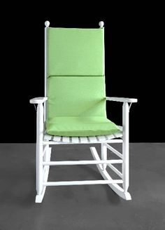 Sunbrella Outdoor Green Rocking Chair Pad, Green Seat Covers | affordable, designer, custom, handmade, trendy, fashionable, locally made, high quality Green Seat Covers, Outdoor Chairs, Outdoor Furniture, Outdoor Decor, Rocking Chair Pads, Ikea Kids Room, Kids Room Organization, Kids Room Design, Slipcovers For Chairs