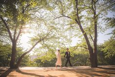Casual Korea Pre-Wedding at Ansan Park | Korea Wedding Photography by LeanSnap…