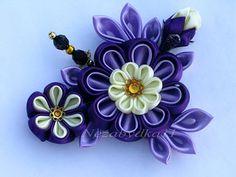 Beautyfull flowers - kanzashi