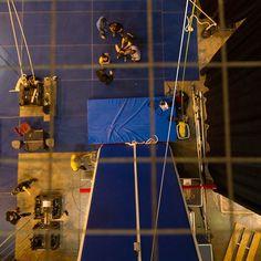 Une vue à vol de #TORUK. / A TORUK's eye view. #CirqueduSoleil #Mtl by cirquedusoleil
