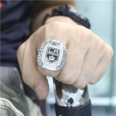 Custom 2012 Los Angeles Kings Stanley Cup Championship Ring