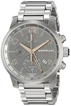 Montblanc Timewalker ChronoVoyager UTC Men s Stainless Steel Swiss  Automatic Watch 107303 Review Expensive Watches 32243a9678