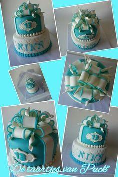 Bow cake / lussenstrik taart