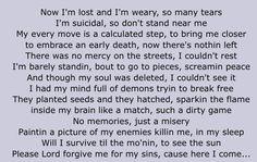 Shed so many tears -tupac