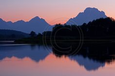 Oxbow Bend at Sunset, Grand Teton NP, Wyoming, Summer 2012  Looking for amazing landscape photography?  Come check out our website for a variety of prints!
