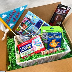 If you know someone who could use a care package delivery at summer camp come to Henry's Sweet Retreat and fill up a box! Note that we also have plenty of non-candy gifts if no food is allowed like games cards toys and more  #itsoktocrave