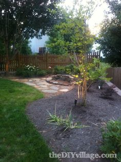 Building a Stacked Stone Fire Pit - the DIY village