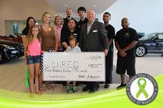 Thank you to Kristina, Drew and Kamrin for visiting with us Friday and accepting a $500 donation on behalf of C.U.R.E.D. Our May #ChooseYourCharity winner. Find out more about C.U.R.E.D. and their battle against Eosinophilic Disease.  http://www.infinitiofnaperville.com/blog/2014/june/23/Winning-Their-Way-to-the-C-U-R-E-D-.htm — at Infiniti of Naperville-Lisle.