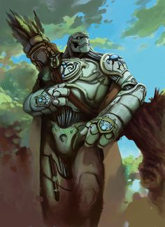 Additional Player Race: Warforged - D&D Summer Campaign Series 2010 Fantasy Character Design, Character Creation, Character Inspiration, Character Art, Character Ideas, Fantasy Races, Fantasy Warrior, Fantasy Rpg, Dungeons And Dragons Characters