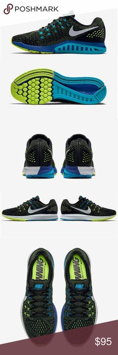 buy popular 4d6a1 9f9e4 Men s Nike Air Zoom Structure 19 The Nike Zoom Structure 19 is a standard  support running shoe best suited for daily training and moderate foot  motion Nike ...
