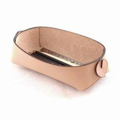 Boîte à outils porte-- nue en cuir porte-outil organisateur - taille 7 pouces - cuir de travail espace organisateur - porte-outils - crayon - stylo de cuir