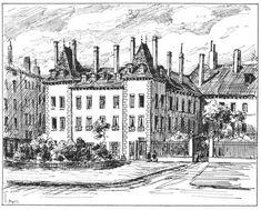 La maison rouge était un hôtel situé à l'angle de la place #Bellecour et de la rue du Peyrat (rebaptisée en 2000 rue A. Saint-Exupéry). Plusieurs fois vendu, l'#hôtel connait plusieurs propriétaires et change de nom au grè des patronymes familiaux. D'abord hôtel Mascrani (du propriétaire A. Mascrani), Louis XIV y séjourne avec sa cour en 1658. Puis l'hôtel prend le nom de la Valette et fin du 18 s, celui de Malte. Aujourd'hui détruit son architecture s'admire à travers des illustrations…