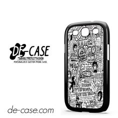 My Chemical Romance Lyrics DEAL-7540 Samsung Phonecase Cover For Samsung Galaxy S3 / S3 Mini