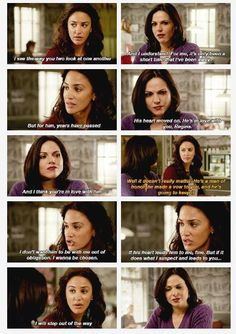 """First, I was like """"YES! <3 """"  And then, very shortly after, my hopes and dreams for Outlaw Queen were destroyed."""