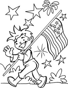 4th Of July Sign | Free Printable Coloring Pages | Pinterest | Holidays,  Baby Toys And July Crafts