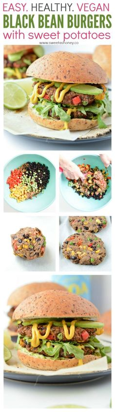Those Vegan black bean burgers have the most delicious meat-like texture, easy to make, spicy flavors, sweet potatoes loaded and contains tons of plant based protein to make your next burger night a guilt-free feast.