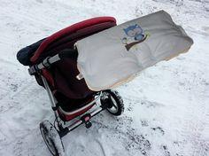 JanuarKristall  warmer  Kinderwagenmuff Eule von me Kinderkleidung und ersatzbezuege auf DaWanda.com