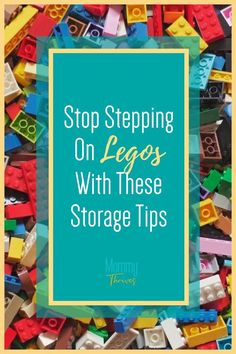 Ideas and Organization Hacks For Legos - How To Store Legos - Ideas For Lego Storage and Organization Small Space Organization, Home Organization Hacks, Organizing Ideas, Lego Table With Storage, Lego Storage, Organizing Clutter, Step On A Lego, Activity Board, Building For Kids