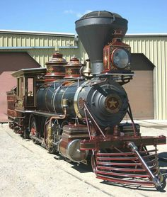 """The """"Glenbrook"""" was built by Baldwin Locomotive Works in 1875 for the Virginia and Truckee. As of 15 October 2015, """"Glenbrook"""" was recently restored to operation."""
