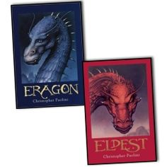Christopher Paolini Inheritance Cycle 2 Books Collection Pack Set Eragon, Eldest