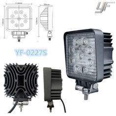 27w led work light led work lamp IP67 CE RoHS any interests in, call me, let's talk more yf12@yufengltd.com