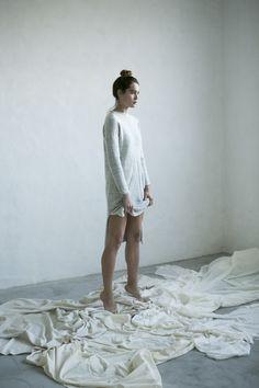 GRETA dress knitwear made in Barcelona