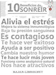 Sonríe! No cuesta nada! #umayor #motivaciones #positivo