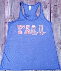 Y'all Tank Top by KCBatik on Etsy, $36.00