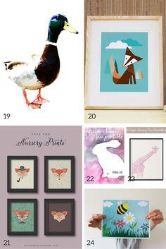 free nursery prints