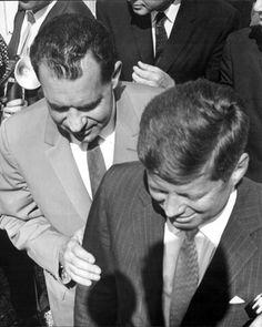 "america-runs-on-kennedy: ""JFK and Nixon """
