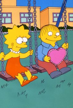 I Love Lisa Simpsons Episode Watch Online. Feeling sorry for Ralph, Lisa sends him a Valentine card. Having developed a crush on her, Ralph invites Lisa to go see the Krusty the Clown show. She accepts but after Krusty asks them if . Simpsons Episodes, The Simpsons Movie, Simpsons Quotes, Simpsons Art, Lisa Simpson, Clown Show, Ralph Wiggum, Duff Beer, Krusty The Clown