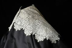 Man's collar of needle lace, about 1635, English.: