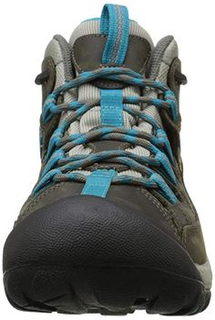 KEEN Womens Targhee II MID WPW Gargoyle/Caribbean Sea 5 BMedium *** Be sure to check out this awesome product-affiliate link. Outdoor Apparel, Outdoor Gear, Outdoor Stuff, Outdoor Camping, Trekking Shoes, Hiking Shoes, Fishing Boots, Thing 1, Waterproof Hiking Boots