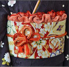 お振袖の帯結び&帯締め・帯揚げアレンジ〈同志会25年度編〉 | 素敵大好き♪美輝美容室