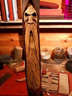 Brooding woodspirit ...