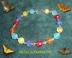 Pulsera brazalete artesanal. Handmade bracelet
