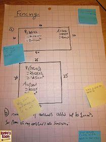 Math Journal Sundays - Comparing Perimeter and Area 71a744da4