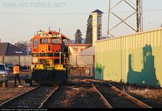 RailPictures.Net Photo: PNWR 1853 Portland & Western Railroad EMD SD9M at Albany, Oregon by Charles Bonville