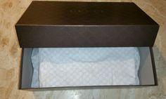 Znalezione obrazy dla zapytania box gucci shoes