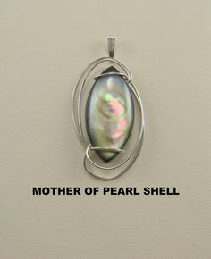 Mother of  Pearl Shell Cabochon Wire Wrapped by stevenagus65, $24.00