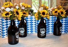 Cinderella Party: 60 decorating ideas and theme pictures - Home Fashion Trend Octoberfest Party, Oktoberfest Food, Oktoberfest Decorations, Beer Tasting Parties, Neighborhood Party, Cinderella Party, Dinner Themes, Thanksgiving, Party Time